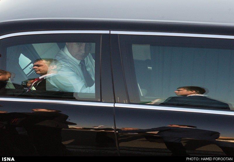 ولادیمیر پوتین عکس ماشین
