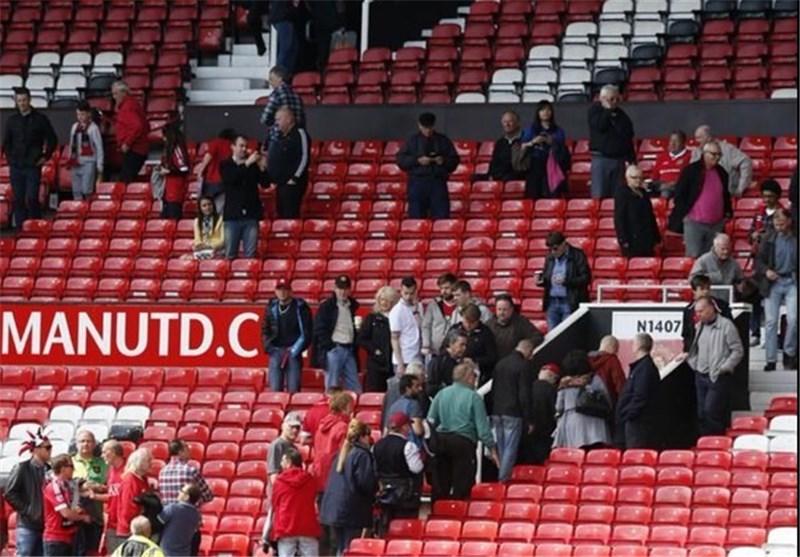 لغو آخرین بازی منچستر یونایتد در لیگ برتر به دلیل وجود بسته مشکوک در اولدترافورد