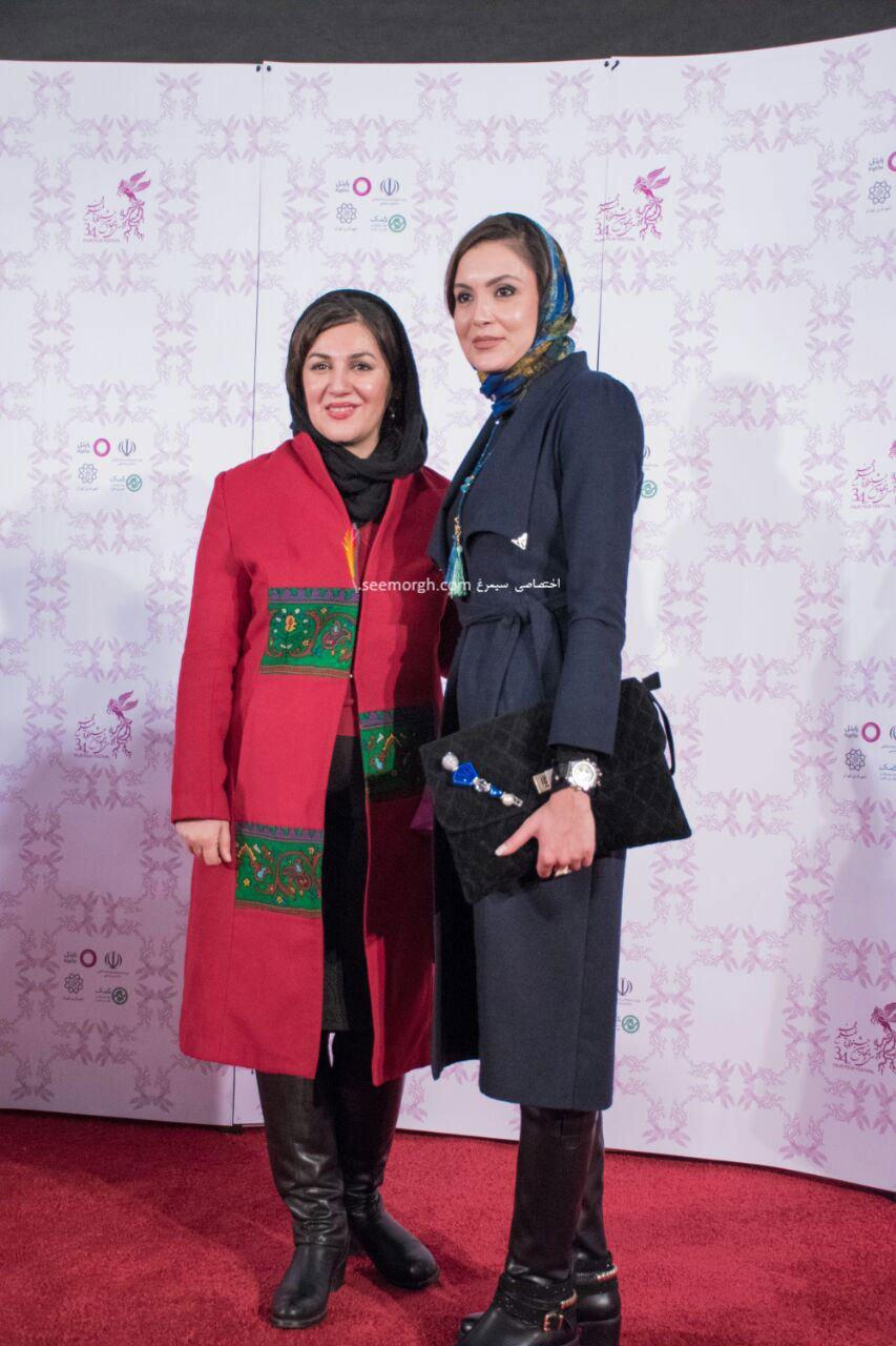 مدل لباس ستاره اسکندری در دومین روز سی و چهارمین جشنواره فیلم فجر