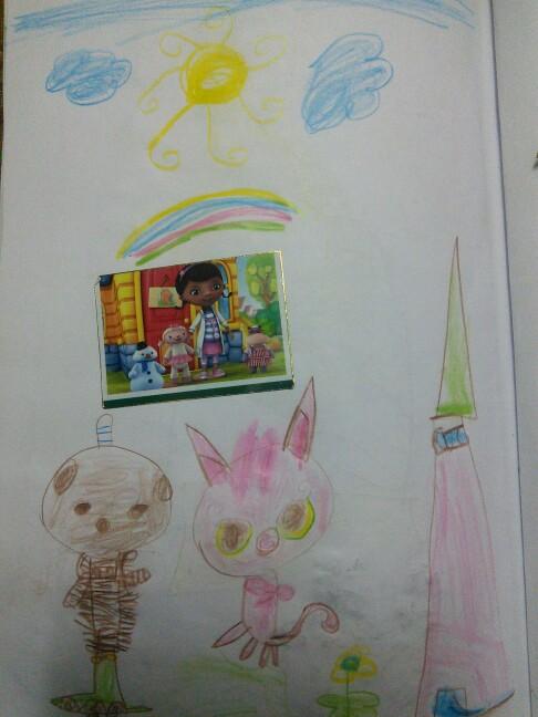 نقاشی زهرا احمدی پناه