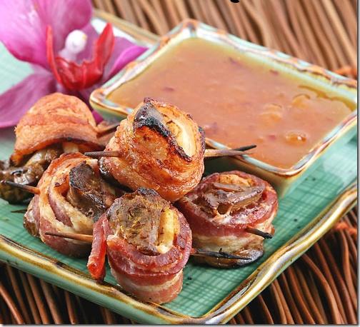 غذای ملل/ روماکی، خوراک جگر چینی