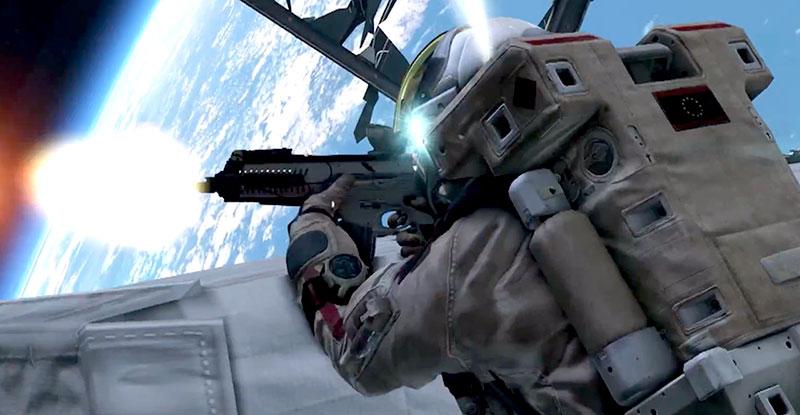 آیا در فضا با یک اسلحه زمینی میتوانید شلیک کنید؟