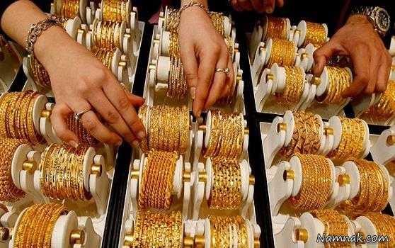 طلافروشی ، طلای دست دوم ، طلای نگین دار