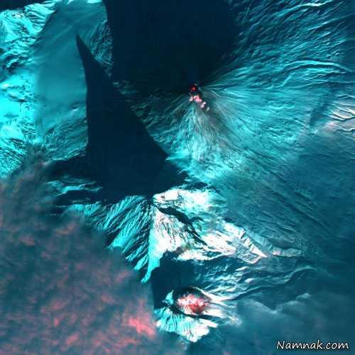 آتشفشان ، شگفت انگیز ، عکس