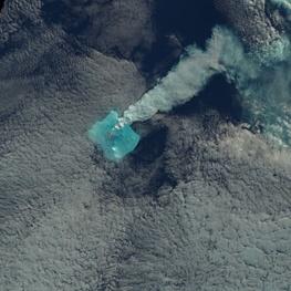 فوران آتشفشانی که هیچکس آن را روی زمین ندید