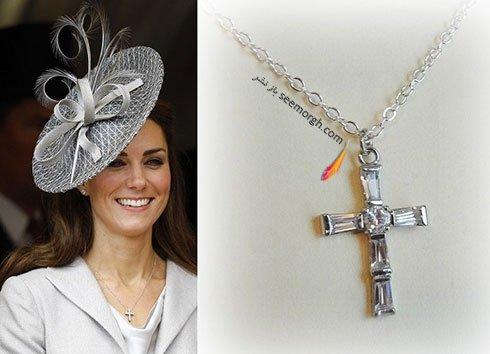 گردنبند الماس کیت میدلتون Kate Middleton
