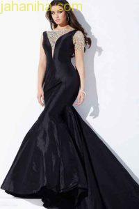 لباس شب بلند,لباس شب دخترانه