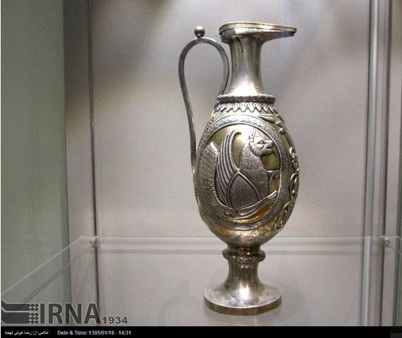 آثار تاریخی ایران در موزه آرمیتاژ روسیه