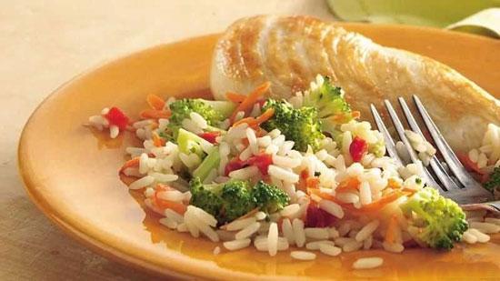 کانفتی برنج،رنگین کمان غذایی