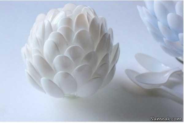 آموزش ساخت گلدان ، تزیین خانه با وسایل ساده ، تزیین خانه با وسایل دور ریختنی