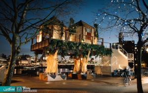 4گوشه دنیا/ خانه درختی با الهام از سبک آفریقایی در لندن