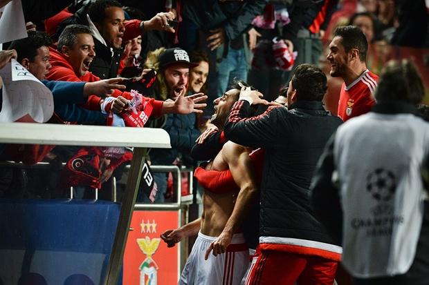 بنفیکا 1 - 0 زنیت / پیروزی لحظه آخری بنفیکا(+عکس)