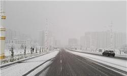 خبرگزاری فارس: «عشقآباد» سفید پوش شد+تصاویر
