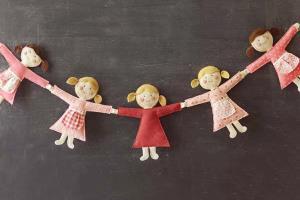 ساخت ریسه عروسکی بسیار زیبا و آسان برای «اتاق کودک»