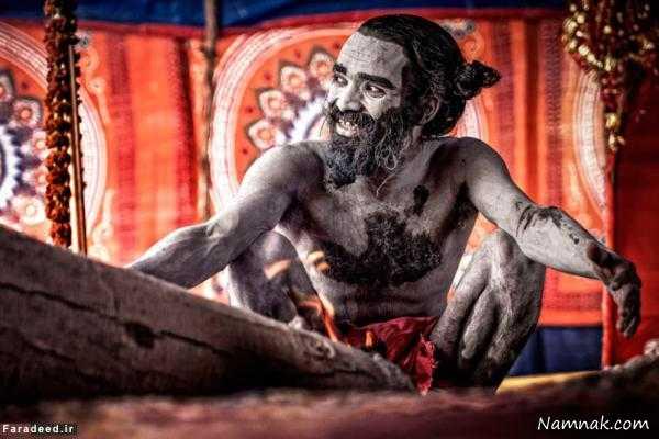 آدم خواران ، راهب های هندی ، آدم خوار