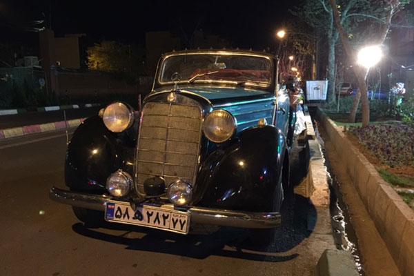 «بنز» خاص در خیابان های تهران