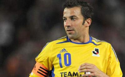 الساندرو دل پیرو،فوتبالیست ایتالیا