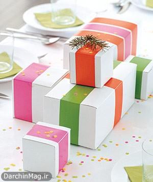 ایده های خلاقانه برای تزئین و کادو کردن هدیهها