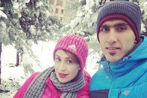 عکس میرزاجانپور و همسر و خواهرش,مجتبی میرزاجانپور