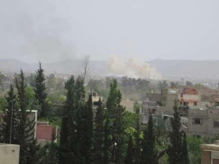 دو انفجار شدید دمشق را لرزاند