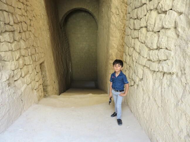 پسرم در قلعه دختر