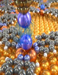اندازهگیری نیروی واندر والسی بین اتم ها
