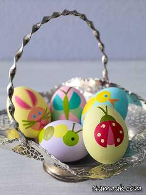 تزیین تخم مرغ ، هفت سین ، تزئین هفت سین
