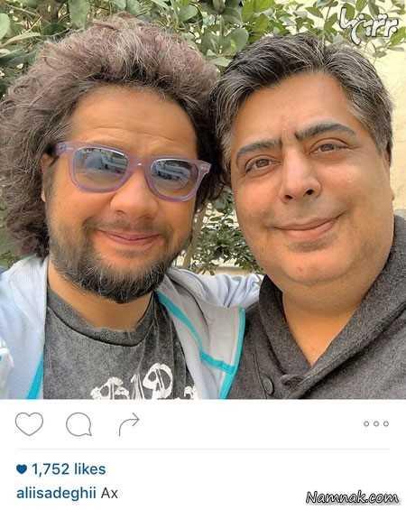 علی صادقی و رضا شفیعی جم ،  عکس ،  بازیگر