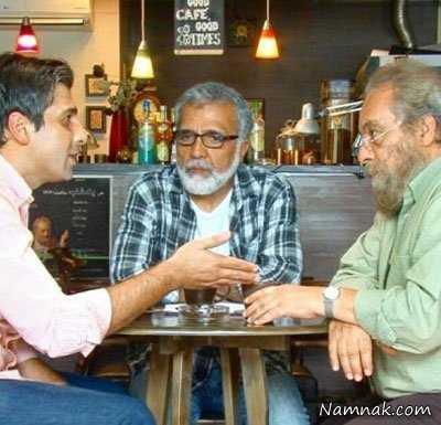 مسعود فراستی ، کافی شاپ بازیگران مشهور ، بازیگران مشهور