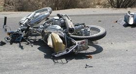حوادث/ عبور مرگبار میکسر از روی موتورسوار در تهران