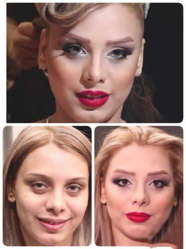 ,مدل های جدید و زیبای عروس قبل و بعد آرایش,[categoriy]