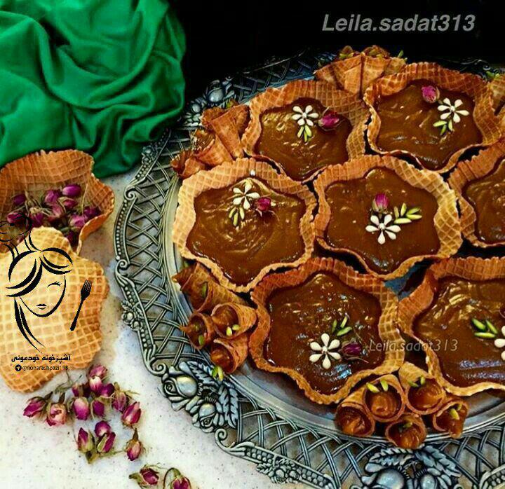 میز اردور/ حلواعربی با تزئینی زیبا