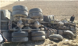 حوادث/ 2 کشته بر اثر خوابآلودگی راننده اتوبوس
