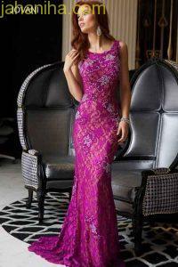 مدل لباس مجلسی,لباس شب گیپور