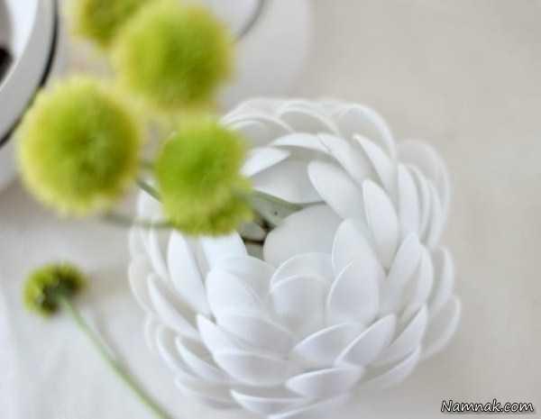 ساخت گلدان زیبا ، آموزش ساخت گلدان با وسایل ساده ، آموزش ساخت گلدان های زیبا