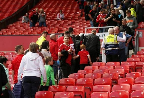 بیانیه لیگ برتر در مورد اتفاقات بازی منچستر یونایتد و بورنموث