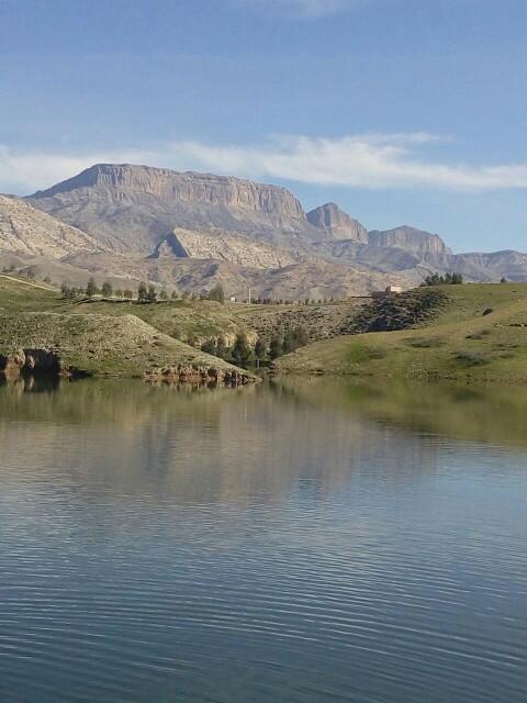 کوه فیلمان   طبیعت زیبای سرابباغ استان ایلام