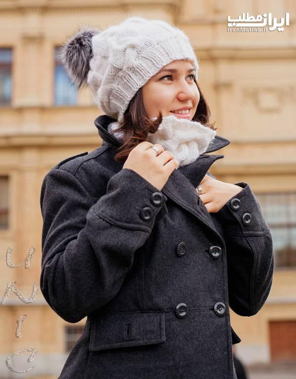 مدل کلاه کلاه بافتنی شال گردن مدل شال گردن
