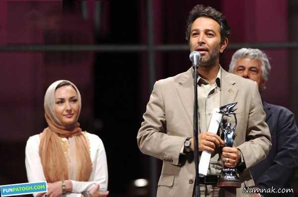مجید جوزانی و هانیه توسلی ،  بازیگر زن ، پسر سیما تیرانداز