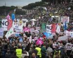 تظاهرات میلیونی در ایتالیا در دفاع از خانواده علیه ازدواج همجنس بازان