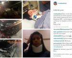 همسر و دختر ریوالدو در بیمارستان بستری شدند + عکس