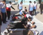 زنگ ایمنی در برابر زلزله در مدارس شهرستانهای غربی کرمانشاه نواخته شد