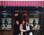 نیلوفر خوش خلق و خواهرش در کافی شاپ امین حیایی + تصاویر