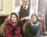 بازیگر معروف مرد در کنار ترانه علیدوستی + عکس