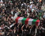 پیکر دومین شهید مدافع حرم حضرت زینب (س) در قزوین تشییع شد