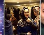 عکسهای دیدنی الهام حمیدی در افتتاحیه برند نیو حجاب